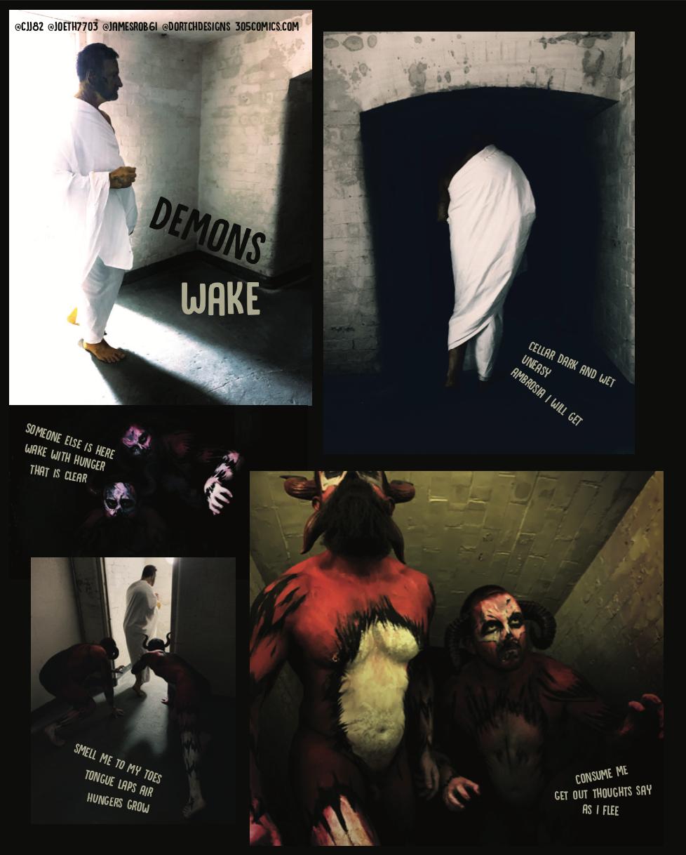 Demons Wake Page 1