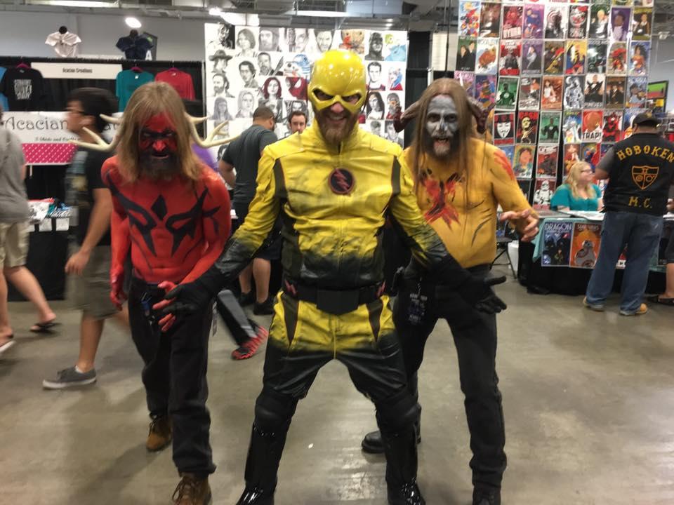 Tommy, Reverse Flash & Steve