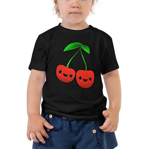 Toddler Short Sleeve Tee - Cherries