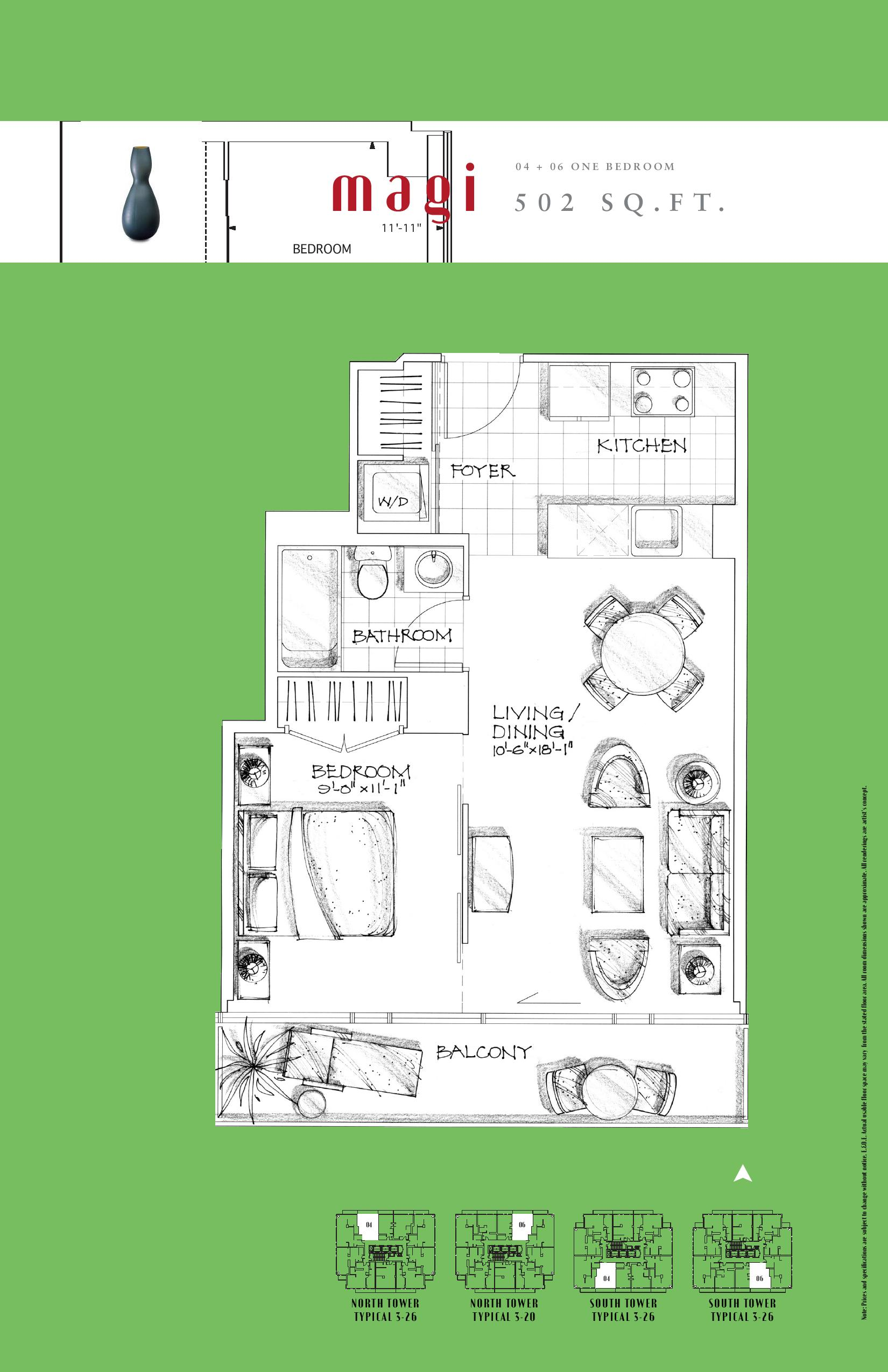 Floor plan Magi