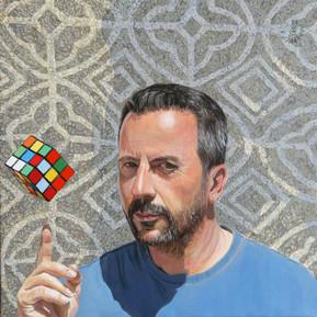 Autoritratto al cubo