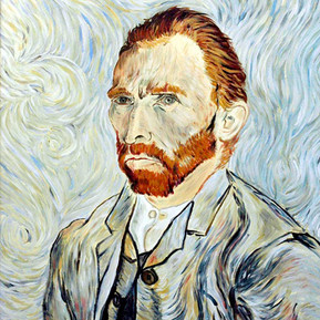 Copia di Autoritratto a St.Remy (V. Van Gogh) - 1889