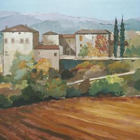 Borgo_rurale_in_Toscana_50x60.jpg