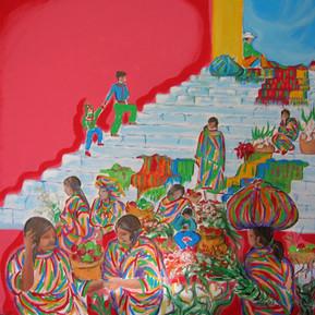 9.mosaico_guatemalteco_olio_su_tela_100x