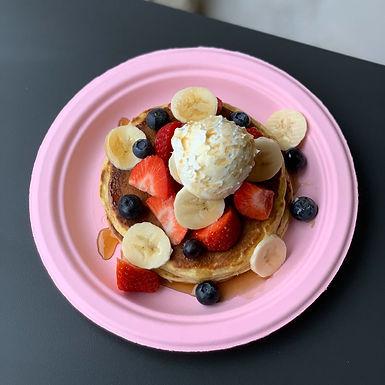 Pancakes con Frutta