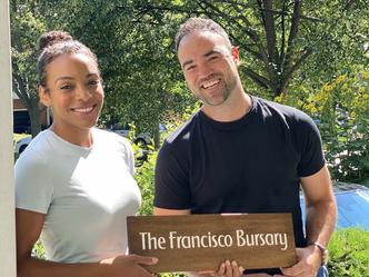 Mike & Quinn Samardzic Establish     The Francisco Bursary