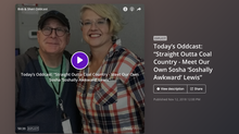 Straight Outta Coal Country - Bob & Sheri Oddcast