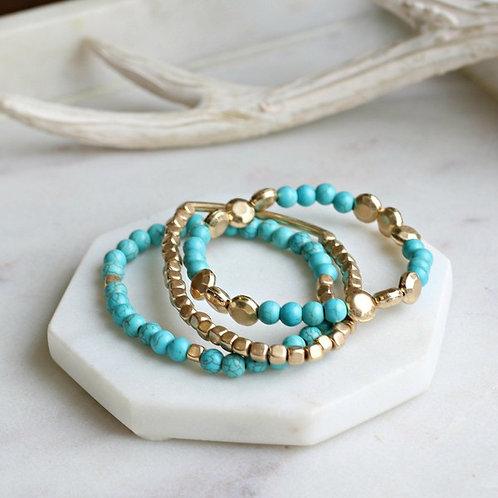 Beaded Layered Bracelets