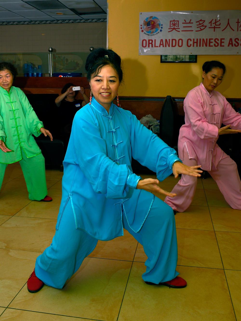 奥兰多华人协会 文化艺术团 表演太极