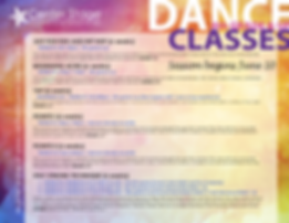Summer 2019 Big Kids Dance Classes