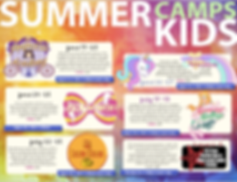 Summer 2019 Little Kids Camps
