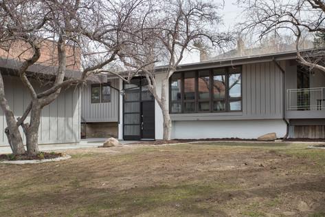 Residential Exterior In Cottonwood Heights Utah