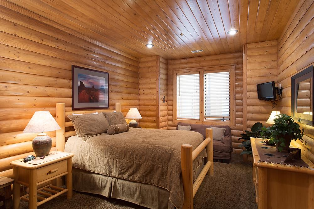 Park City Chaparral Deer Valley Condo Master Bedroom