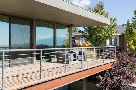 Mid-Century Modern Balcony