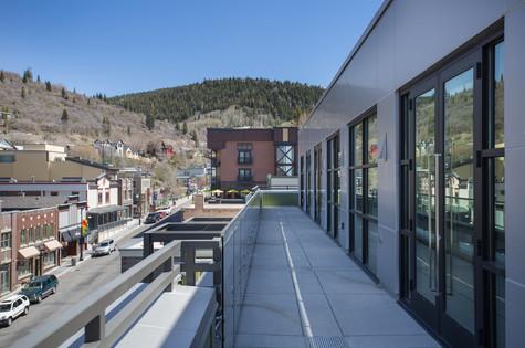 Park City Utah Luxury Retreat Balcony Area