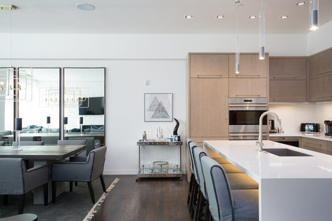 Park City Utah Luxury Retreat Kitchen Area