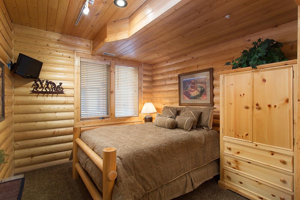 Park City Chaparral Deer Valley Condo Living Bedroom
