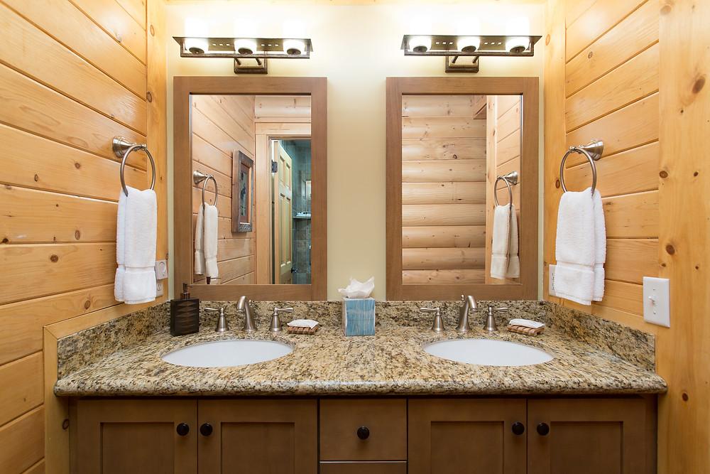 Park City Chaparral Deer Valley Condo Master Bathroom
