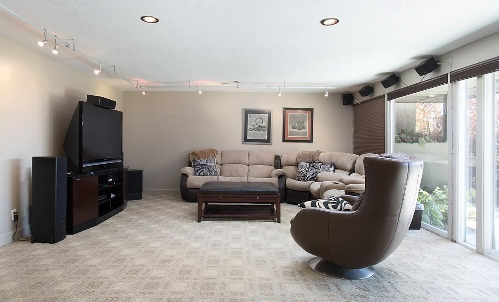 Utah Home Entertainment Space