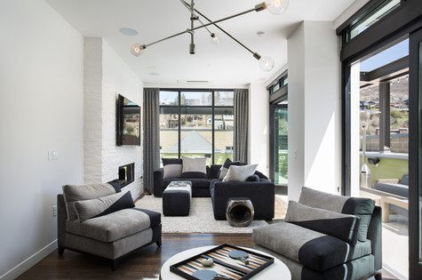 Park City Utah Luxury Retreat Living Space