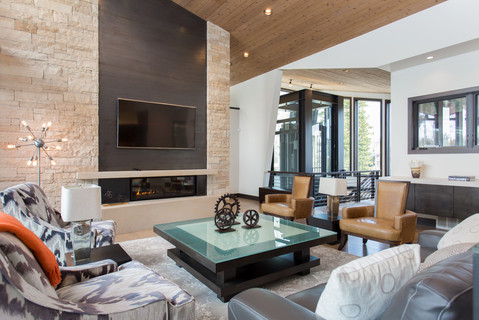Park City Utah Luxury Retreat Living Area