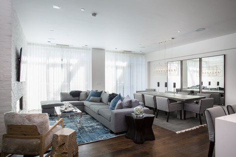 Park City Utah Luxury Retreat Living Area,