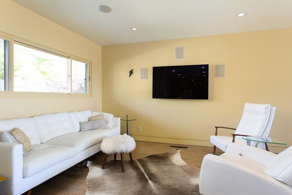 Utah Mid-Century Modern Living Area