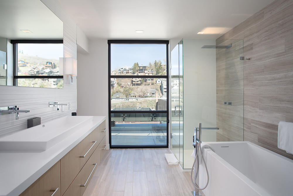 Master Bathroom of the Parkite Penthouse