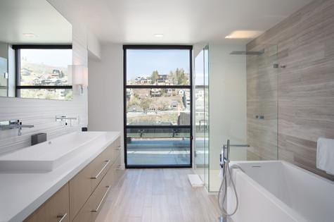Park City Utah Luxury Retreat Master Bathroom