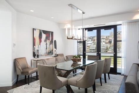 Park City Utah Luxury Retreat Dinning Space