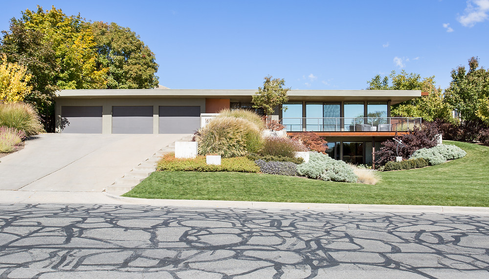 Utah Mid-Century Modern Facade