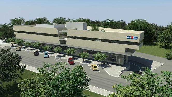 Almog Commercial Center Talmei Menashe 1