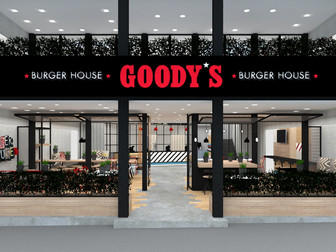 New Goody's Burger House project, at Solonos Street, Athens.