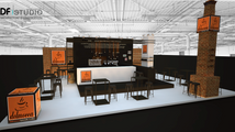 DELMOCCA Speciality Coffee_ exhibition stand_HO.RE.CA 2015