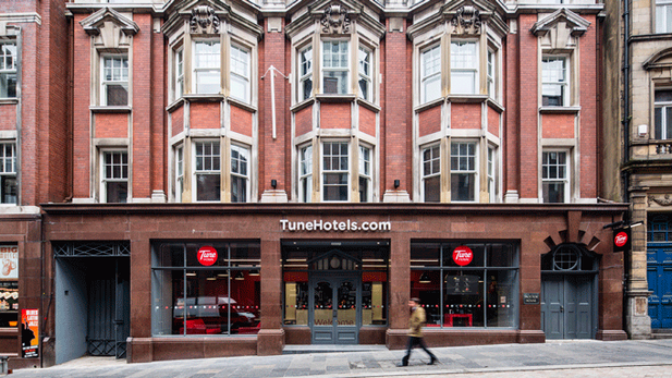 Tune Hotel, Newcastle