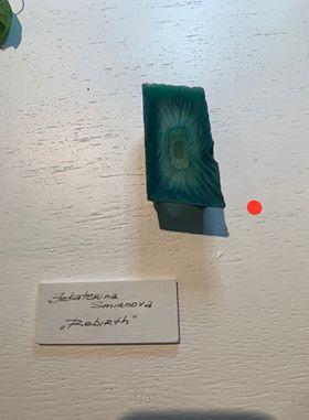 First sale- Jekaterina Smirnova's beautiful agate brooch