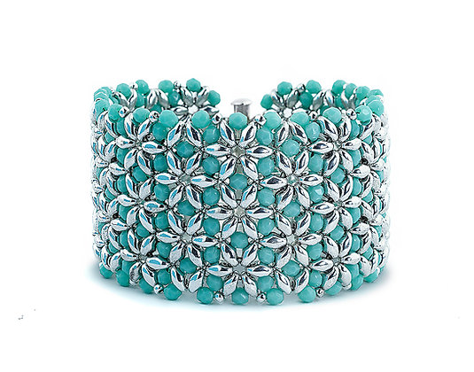 Jewelry, Bracelet, Cuff, Turquoise, Sterling Silver, ML, Michelle Leonardo Design, Sea Star Bracelet