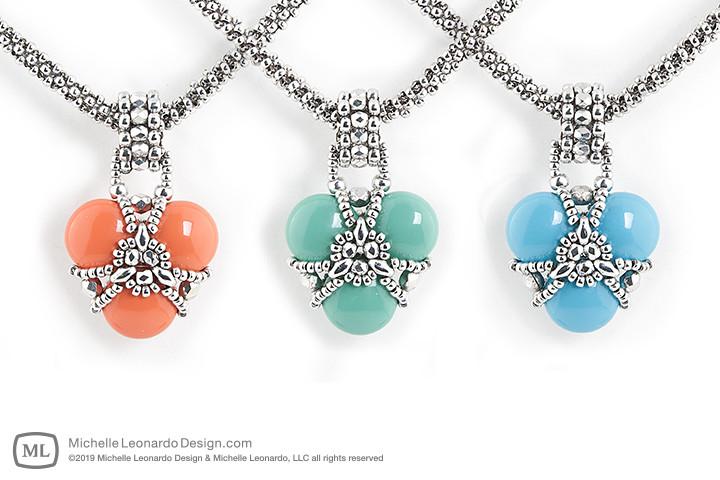 Queen's Heart Necklace by Michelle Leonardo