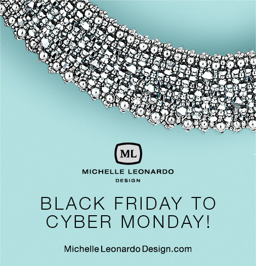 Black Friday To Cyber Monday Banner for Michelle Leonardo Design