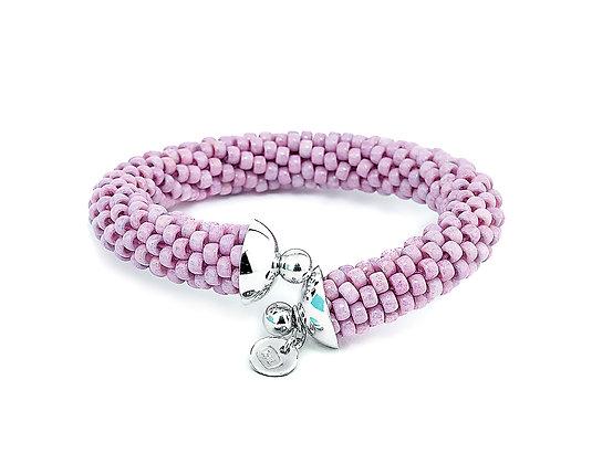 Jewelry, Bracelet, Cuff, Pink, Orchid, Sterling Silver , ML, Michelle Leonardo Design, Scottsdale Cuff