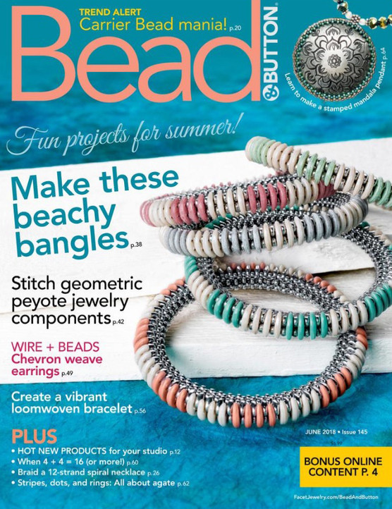 ON THE COVER OF JUNE'S B&B MAGAZINE!
