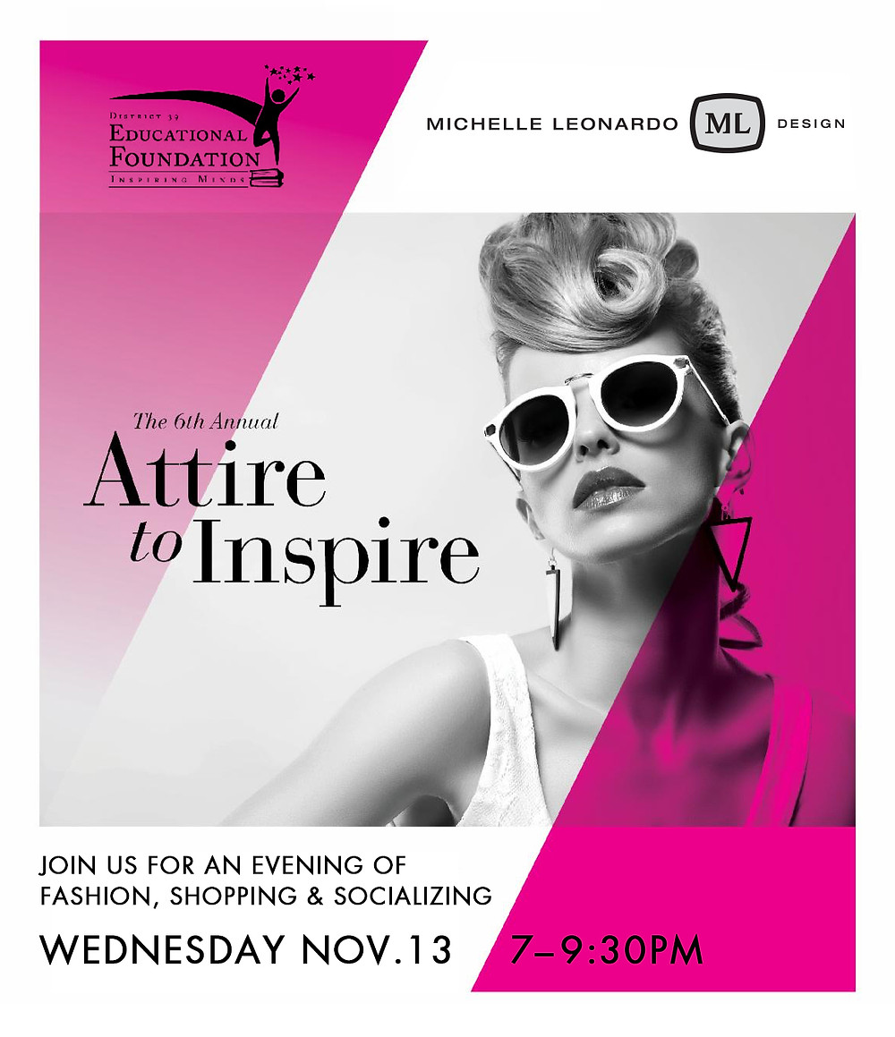 Attire To Aspire Nov. 13, 2019 — Sponsored by Michelle Leonardo Design