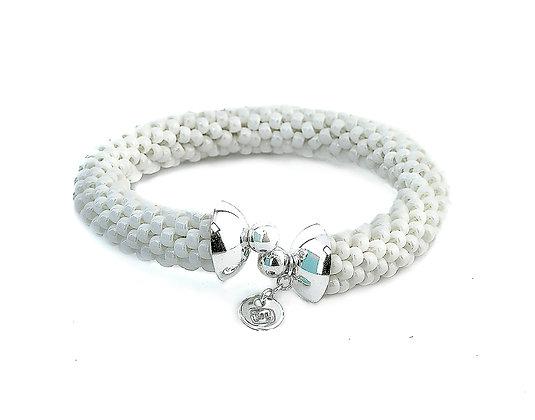 Jewelry, Bracelet, Cuff, Snow, White, Sterling Silver , ML, Michelle Leonardo Design, Scottsdale Cuff