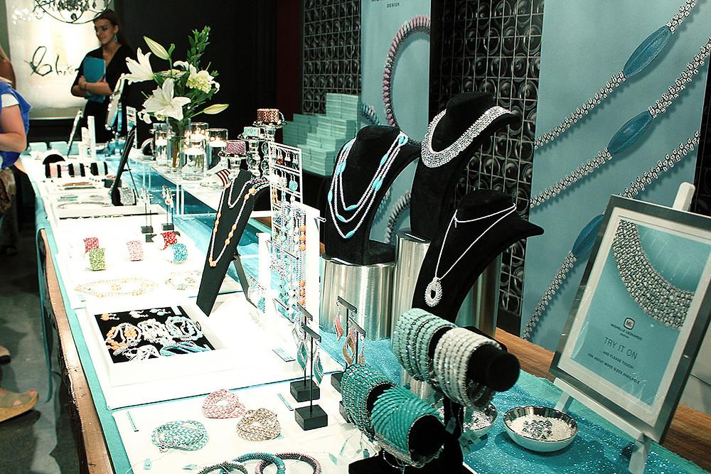 Michelle Leonardo Design Launch Party — Display