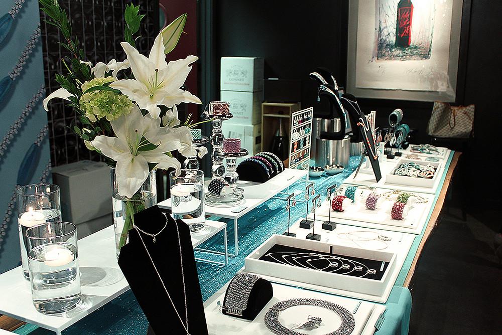 Michelle Leonardo Design Launch Party – Display