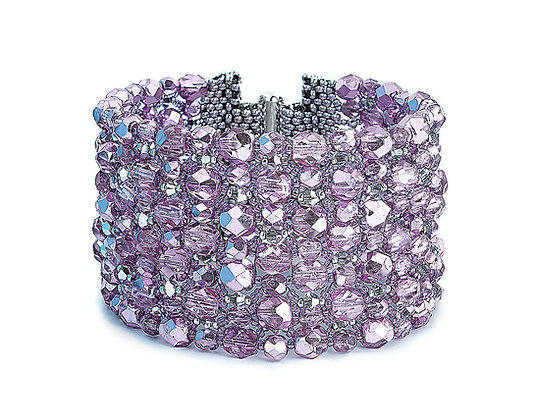 Jewelry, Bracelet, Cuff, Silver, Sterling Silver, Swarovski, Rock Candy, ML, Michelle Leonardo Design, Eye Candy Bracelet
