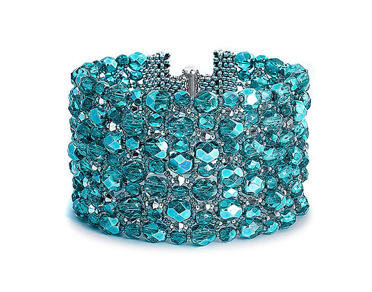 Jewelry, Bracelet, Cuff, Silver, Sterling Silver, Swarovski, Rock Candy, ML, Michelle Leonardo Design, Eye Candy Bracelet