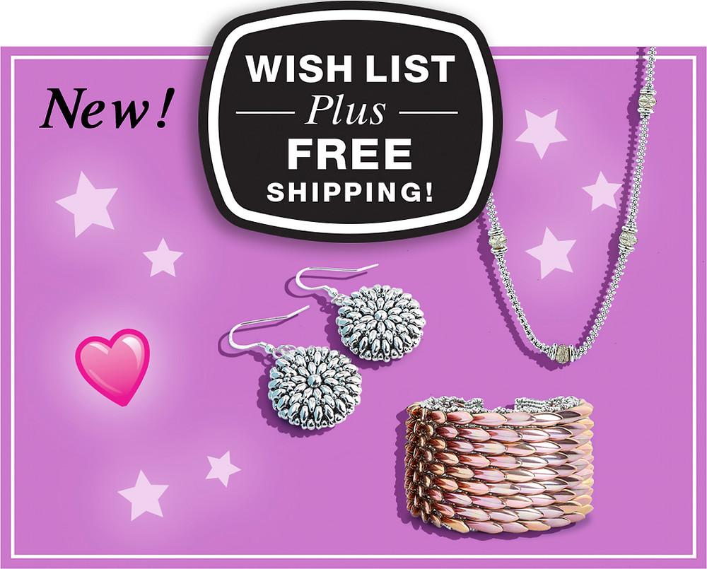 Wish List Plus Free Shipping for Michelle Leonardo Design
