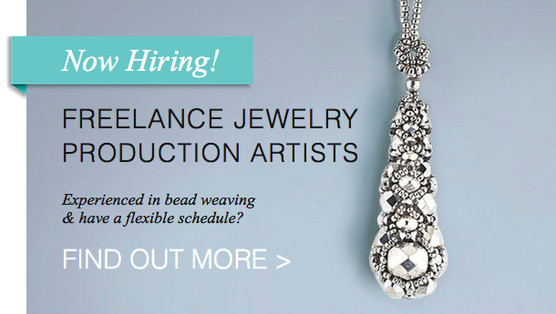 NOW HIRING! FREELANCE JEWELRY PRODUCTION ARTISTS