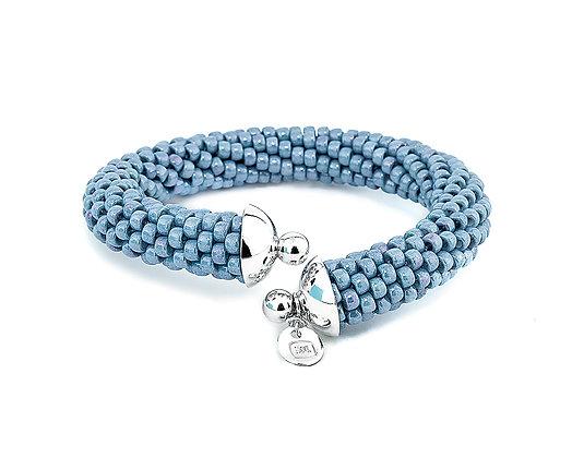 Jewelry, Bracelet, Cuff, Powder Blue, Sterling Silver , ML, Michelle Leonardo Design, Scottsdale Cuff